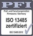 PFI Zertifikat Müller